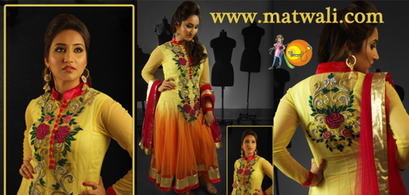 http://www.matwali.com/store/chamak-challo/dresses/yellow-and-orange-dual-shade-dress-with-orange-velvet-border/